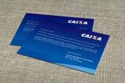 Cartão de Visita Caixa